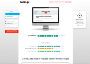 Audyt SEO w home.pl pomaga sprawdzić Ci widoczność Twojej strony internetowej w Google, a także pozwala sprawniej zrozumieć czym jest proces pozycjonowania i dlaczego warto z niego skorzystać.