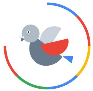 Algorytm Google - Gołąb