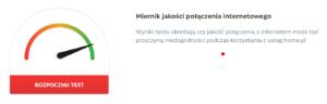 prawdź jakość swojego połączenia internetowego do home.pl