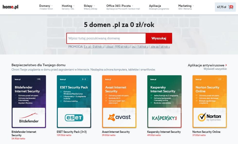 Strona główna home.pl