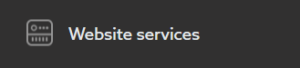 Section WWW services