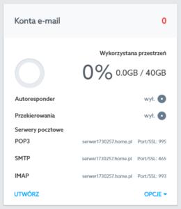 Adresy serwera home.pl