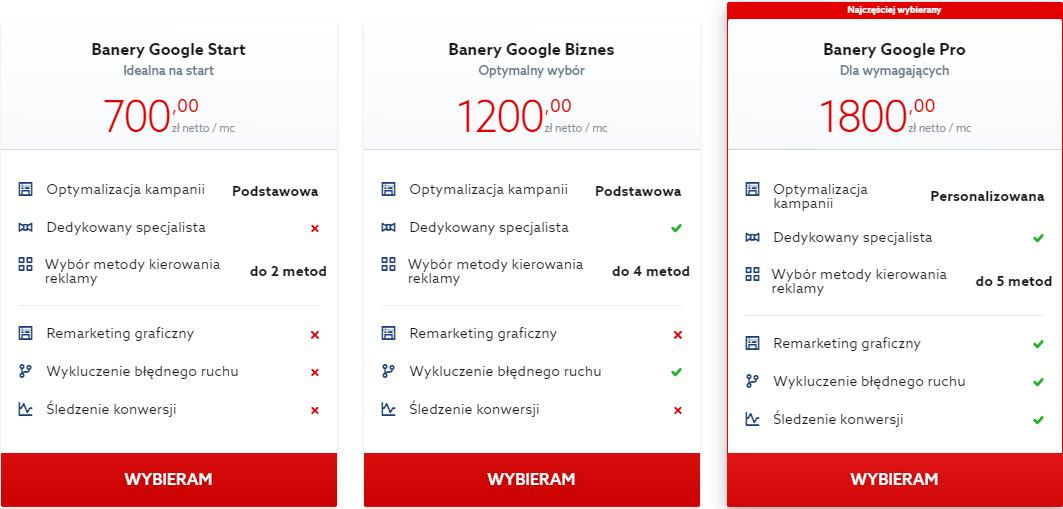 W jaki sposób skorzystać z usługi Banery Google w home.pl?