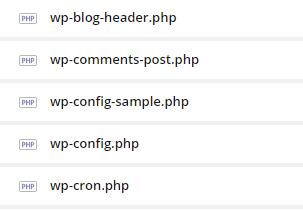WebFTP - katalog public_html - Znajdź plik wp-config.php i kliknij Edycja