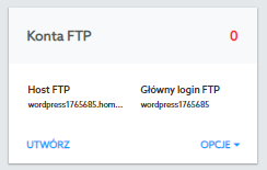 How to create a new FTP server user.