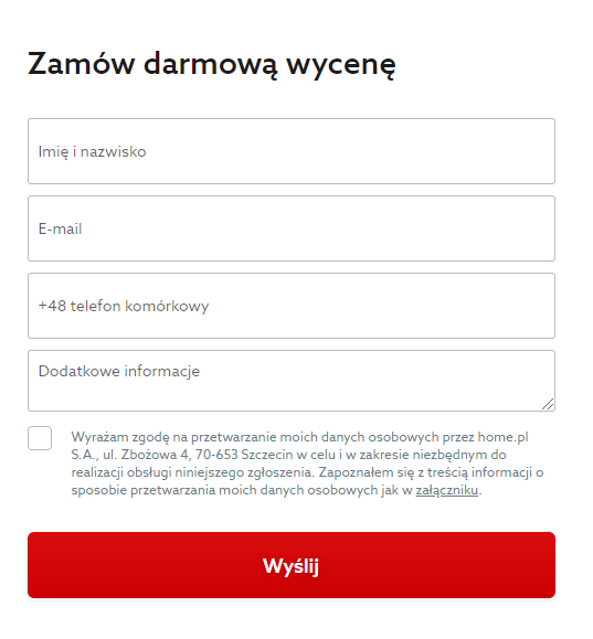 Jak zamówić indywidualny projekt strony WordPress w home.pl?