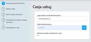 Cesja elektroniczna krok po kroku - home.pl