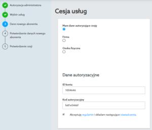 Cesja elektroniczna w nowym Panelu Klienta home.pl