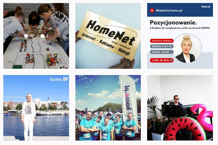Instagram to portal społecznościowy, w którym najważniejsze są grafika i video.
