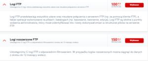 profesjonalne usługi IT - Logi FTP