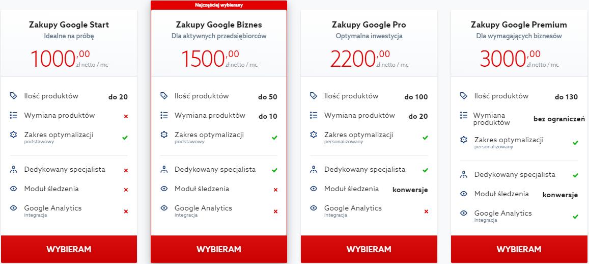 W jaki sposób skorzystać z usługi Zakupy Google w home.pl?