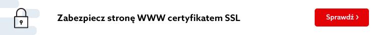 Zleć instalację SSL (także tego, który kupiłeś poza home.pl) lub jeżeli posiadasz już certyfikat SSL kupiony u zewnętrznego dostawcy, pomożemy Ci przenieść go na Twój serwer