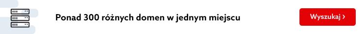Kup domeny .pl i odbierz 50 zł. Znajdziesz u nas także domeny .eu, .com, .de i ponad 300 innych. Skorzystaj z najszybszej wyszukiwarki domen i zobacz, czy poszukiwana przez Ciebie domena jest wolna.