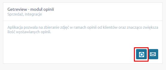 Getreview na stronie sklepu internetowego - moduł opinii.