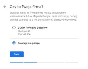 Google Maps - Dodawanie firmy do map Google