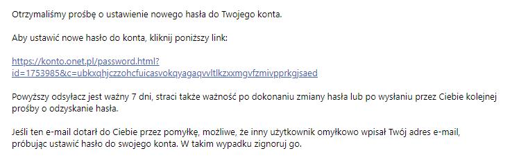 Jak zmienić hasło dostępu do konta e-mail Onet Poczta?
