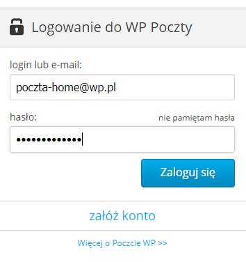 Okno logowania do Poczty WP.pl? Jak zmienić hasło do skrzynki e-mail?