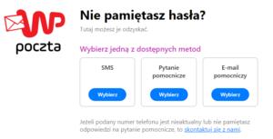 Jak zmienić hasło do poczty WP.pl?