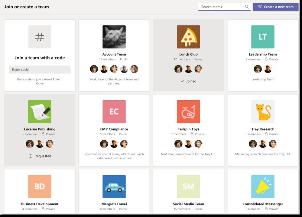 Zmiany w Microsoft Teams - zmiana widoczności prywatnych grup