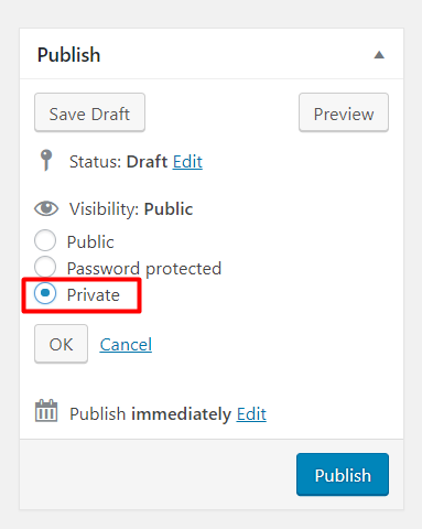 How do I make my WordPress site private?