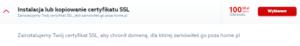 Instalacja zewnętrznego certyfikatu SSL na serwerze