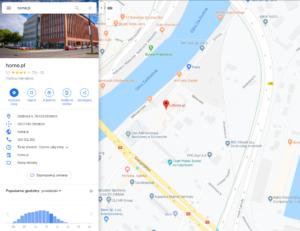 Darmowa wizytówka firmy w Google Maps