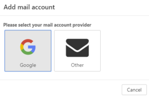 Zewnętrzne konto e-mail