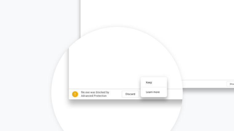 Wykrywanie zagrożeń w Chrome