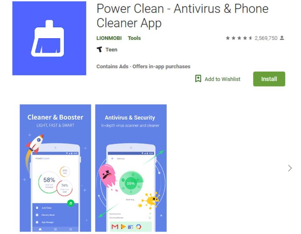 niebezpieczna aplikacja w sklepie Google Play