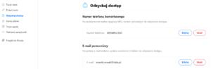 Zmiana ustawień opcji odzyskiwania hasła O2.pl
