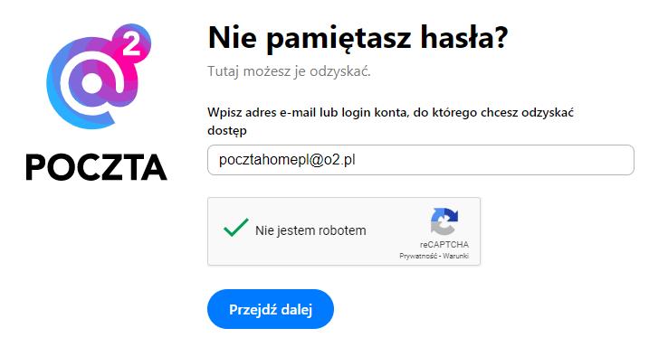 Zmiana hasła do poczty O2.pl - Nie pamiętasz hasła do konta pocztowego?
