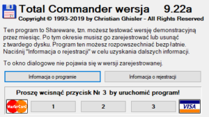 Menadżer plików Total Commander
