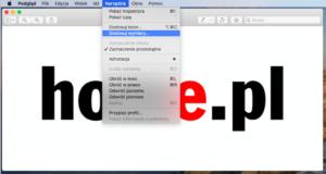 Aplikacja Podgląd macOS