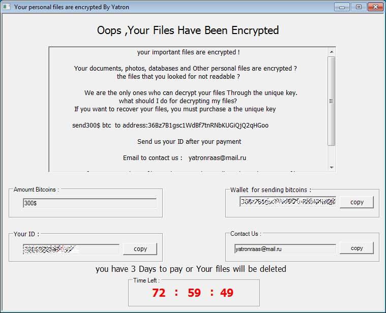 YRansomware Yatron i FortuneCrypt - Kaspersky znalazł rozwiązanie
