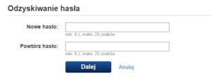 Zmiana hasła do poczty gazeta.pl - nowe hasło
