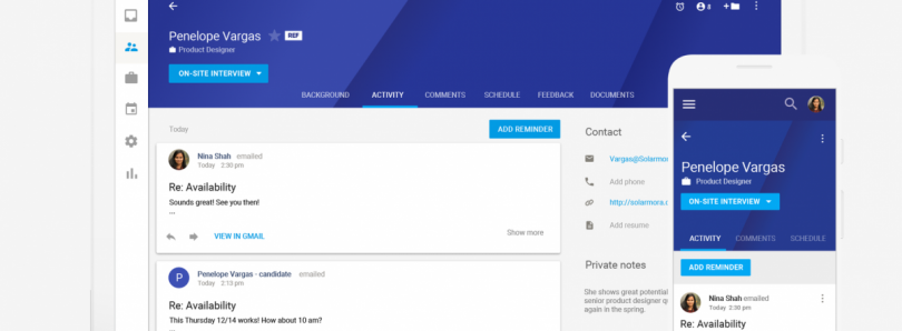 Google Hire - Microsoft LinkedIn