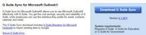 Synchronizacja G Suite z Outlook 2019