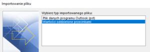 Importowanie kontaktów do Microsoft Outlook z pliku