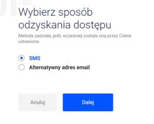 Zmiana hasła do konta w poczta Interia