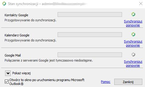 Synchronizator G Suite w Outlook - automatyczna synchronizacja z Outlook.