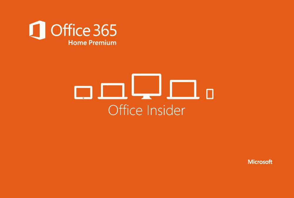 Nowy buid dostępnym w Office Insider