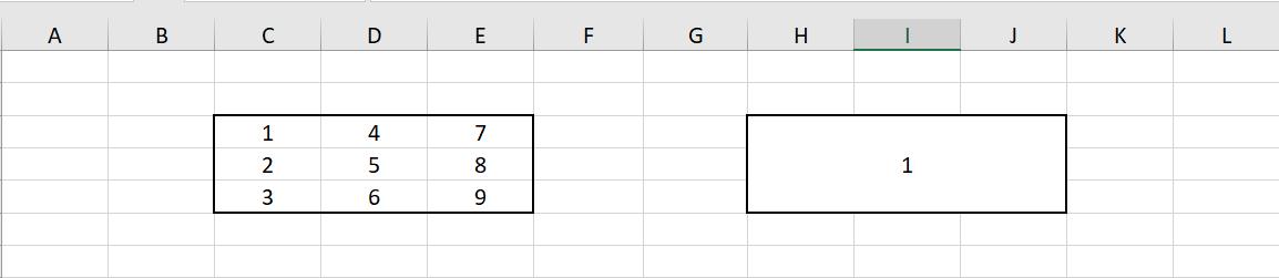 Jak scalić komórki w Excel? Scalone komórki wg obszaru zaznaczonego przez użytkownika.
