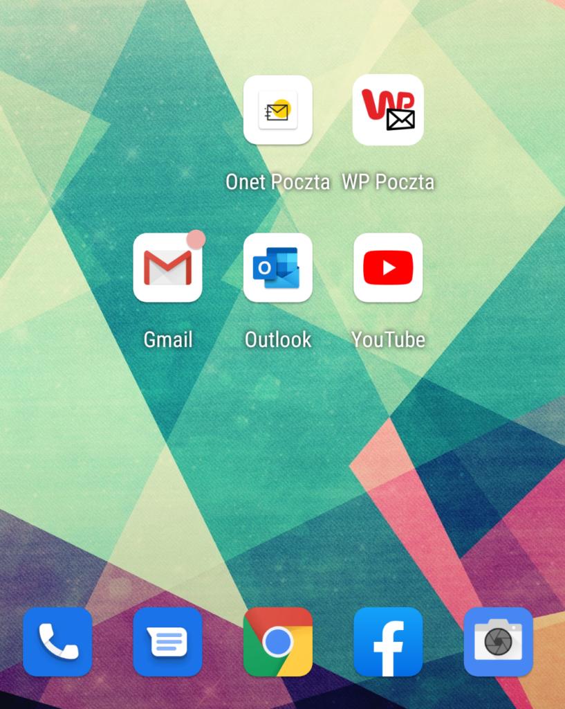 Instalacja Onet Poczta na urządzeniu Android