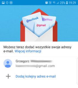 Uruchom aplikację Gmail na telefonie lub tablecie