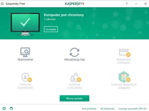 Kaspersky Free - darmowy program antywirusowy