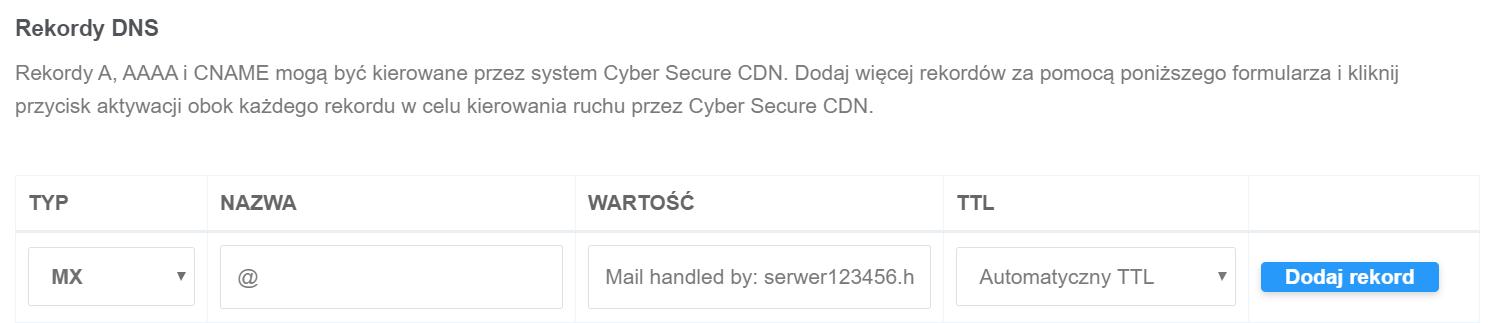 Jak skonfigurować Ochronę WWW (CDN) dla domeny w home.pl?