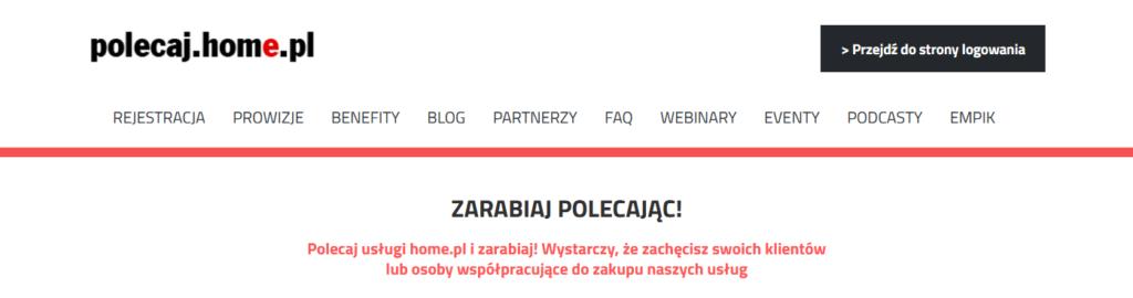 Jak odzyskać hasło do Panelu Partnera na polecaj.home.pl?