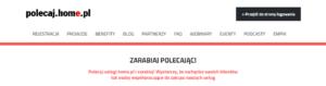 Polecaj.home.pl - logowanie