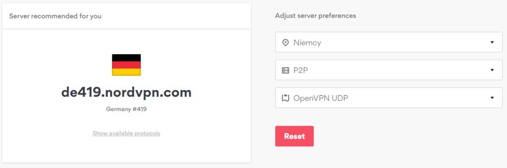 Wybierz serwer VPN spełniający Twoje oczekiwania