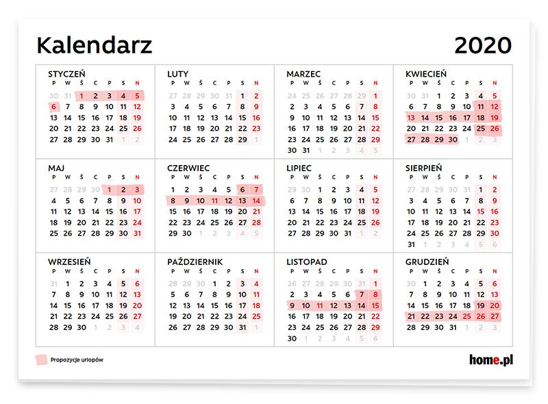 Jak najkorzystniej zaplanować urlop 2020?